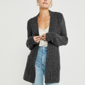 Abercrombie and Fitch gray cardigan
